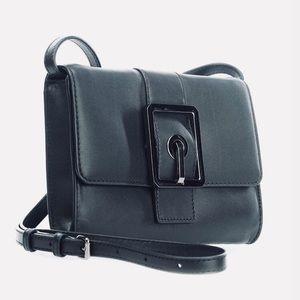 REBECCA MINKOFF HookUp Convertible Leather Clutch